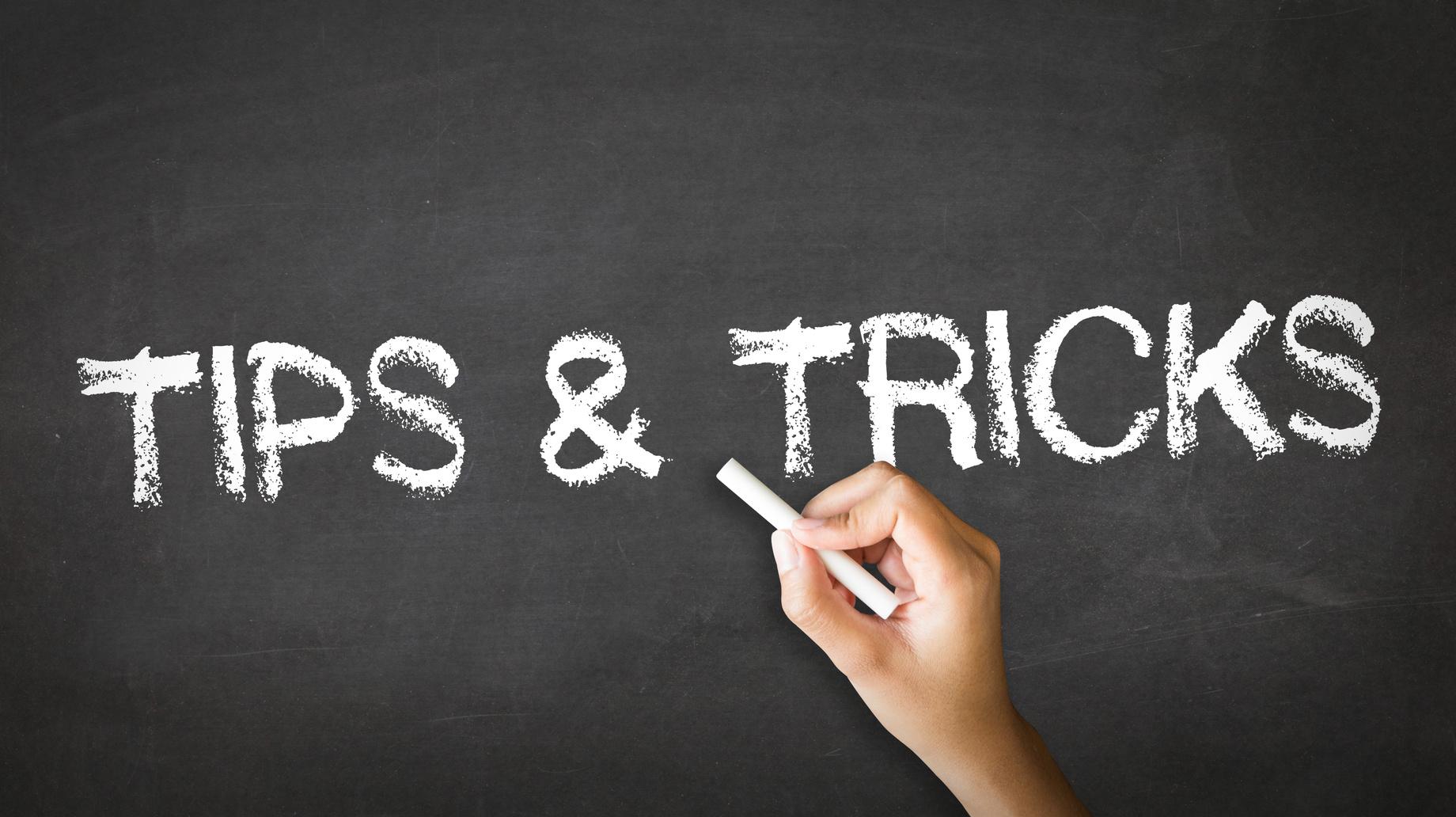 tips-tricks